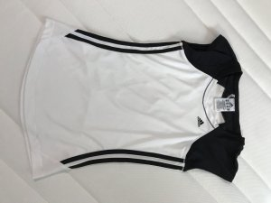 Adidas Débardeur de sport noir-blanc