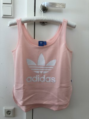 Adidas Sporttop in rosa/weiß in Größe 36