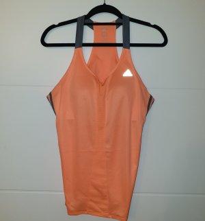 Adidas Sporttop orange mit Bra!
