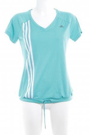 Adidas Sporttop turkoois atletische stijl
