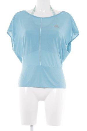 Adidas Débardeur de sport turquoise style athlétique