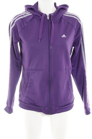 Adidas Gilet de sport lilas style décontracté
