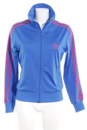 Adidas Gilet de sport bleu fluo style décontracté