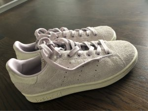 adidas stan smith Basket à lacet mauve