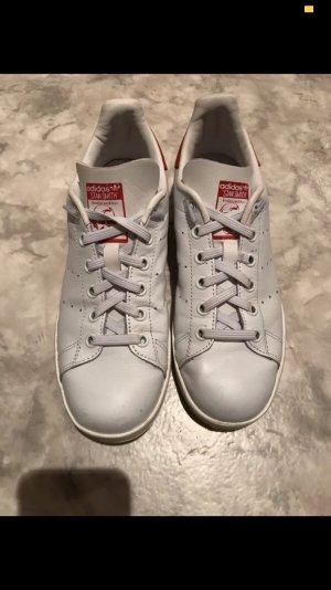 adidas stan smith Zapatillas deslizantes blanco-rojo