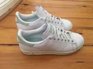 Adidas Stan Smith, 39 1/3, weiß mit graugrün, sehr selten getragen
