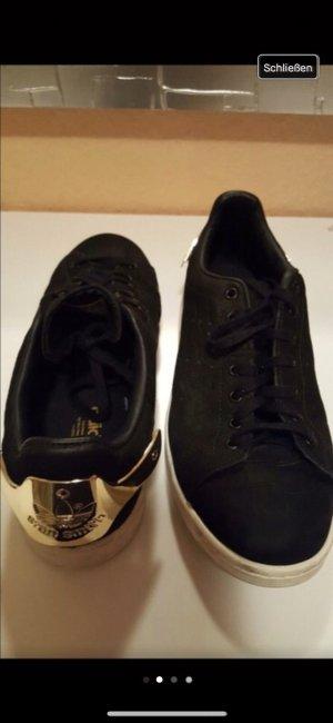 adidas stan smith Sneakers met veters zwart-goud
