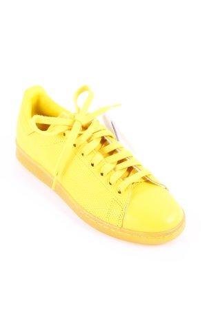 Adidas Stan Smith Adicolor Schnürsneaker gelb sportlicher Stil