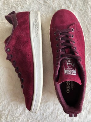 Adidas Stan Smith Bordeaux Velour Sneaker