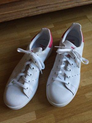 Adidas Sneakers met veters wit-roze Leer