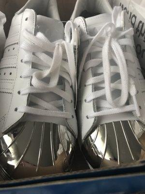 Adidas Stan Smith Metal Toe Silber Neu