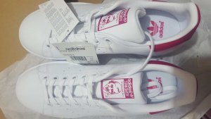 adidas stan smith rosa weiss