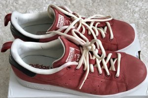 Adidas Stan Smith rot Echtes Leder Gr. 43 (UK 9) Top