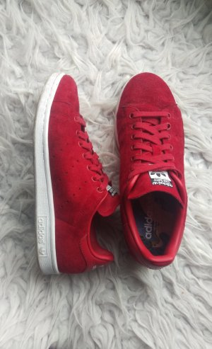 Adidas Stan Smith Rot Wildleder
