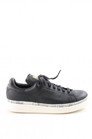 adidas stan smith Lace-Up Sneaker black-white casual look