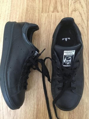 adidas stan smith Lace-Up Sneaker black