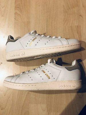 adidas stan smith Basket à lacet gris clair