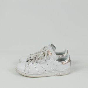 Adidas Stan Smith Sneaker Gr. 37 1/3 weiß/kupfergold (19/03/187)