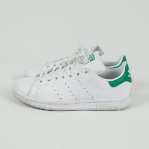 Adidas Stan Smith Sneaker Gr. 38 weiß/grün (19/03/186)