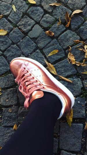Adidas Stan Smith Sneaker Roségold Sonderedition
