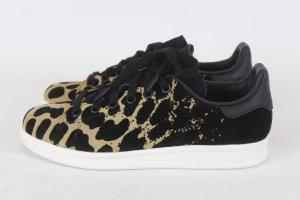 Adidas Sneakers met veters zwart-camel Gemengd weefsel