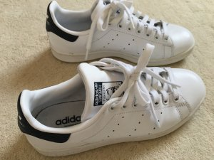 Adidas Stan Smith Sneaker weiß/dunkelblau Gr. 38 *wenig getragen*