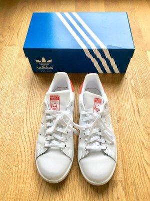 Adidas Stan Smith Sneaker Weiß Rot Neu