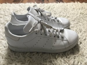 adidas stan smith Lace-Up Sneaker white leather