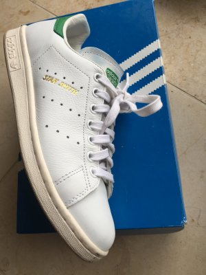 adidas Stan Smith weiß/grün Gr. 6