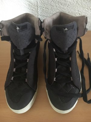 Adidas by Stella McCartney Lace-Up Sneaker black synthetic material
