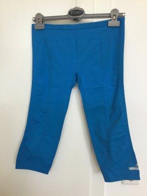 Adidas by Stella McCartney 3/4 Length Trousers steel blue-neon blue