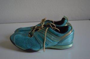 ADIDAS STELLA McCartney Schuhe Fitness Trainingsschuhe Gr.25,5 DE 39 UK 7 Türkis