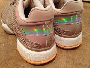Adidas Stella McCartney Sneaker Barricade neu 40 Metall rosé