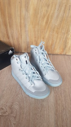 Adidas stellasport mc cartney irana siberblau pastell high tops vegan gr.38.5 neu