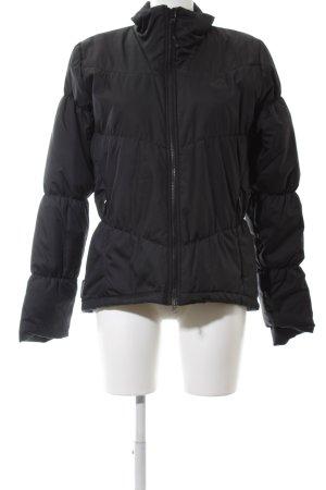 Adidas Veste matelassée noir motif de courtepointe style décontracté