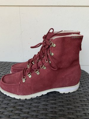 Adidas Lace-up Boots brown red-bordeaux