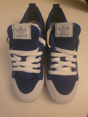 Adidas Lace-Up Sneaker dark blue