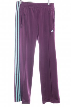 Adidas Stoffhose purpur-mint Casual-Look