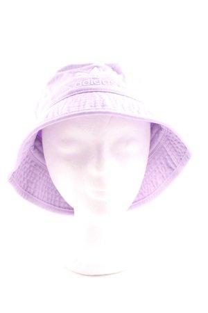 Adidas Fabric Hat purple casual look