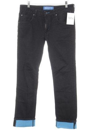 Adidas Vaquero rectos negro estilo sencillo