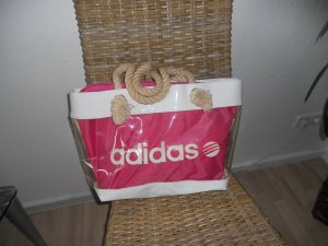 Adidas NEO Sports Bag pink synthetic material