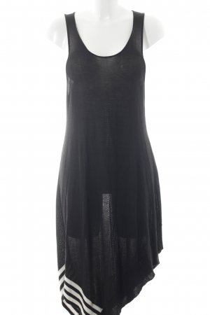 Adidas Beach Dress black-white striped pattern