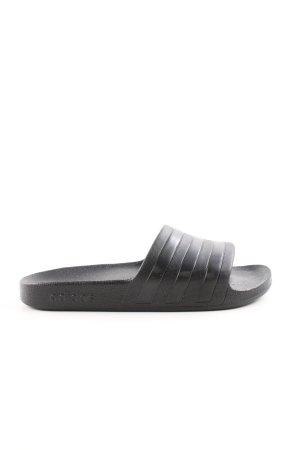 Adidas Beach Sandals black casual look