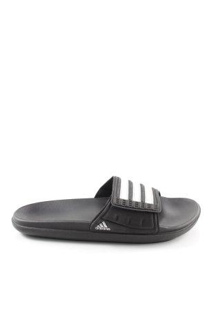 Adidas Sandalias de playa estampado a rayas Estilo playero