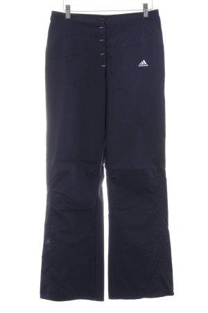 Adidas Stretchhose dunkelblau sportlicher Stil