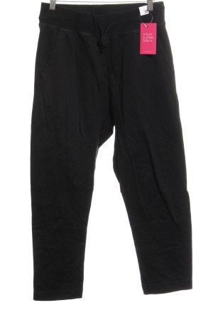 Adidas Stretchhose schwarz Casual-Look