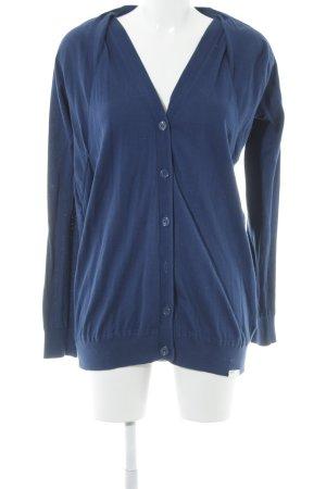 Adidas Strick Cardigan blau Casual-Look