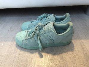 Adidas Basket à lacet turquoise