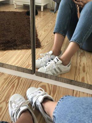 Adidas Originals Instapsneakers wit-zilver