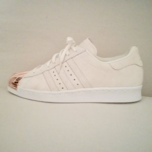 Adidas Superstar 80`s Metal Toe (Off White / Copper Metallic) 38